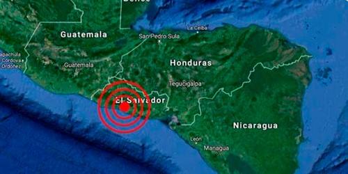Sismo Pacífico salvadoreño