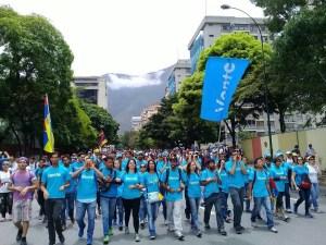 Vente Venezuela: La juventud acabará con la última dictadura de nuestra historia