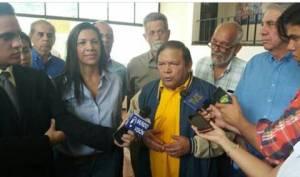 Andrés Velásquez: No podemos convalidar la convocatoria a esta farsa electoral