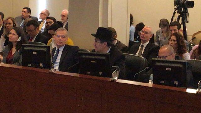 Representante de la delegación de Bolivia en la OEA