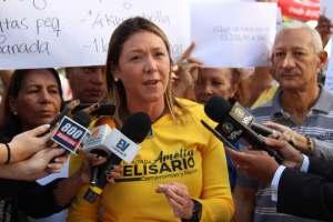 Amelia Belisario: Vamos a validar a PJ para seguir luchando unidos, y derrotar a los responsables del hambre y la crisis del país