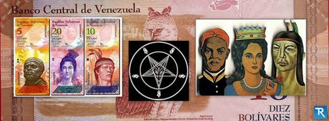 Desde que se instauró el cono monetario junto con los nuevos billetes, los venezolanos han apuntado a la presencia de símbolos e imágenes relacionados con la santería, religión afroamericana fundamentada en las creencias Yoruba y elementos del catolicismo.