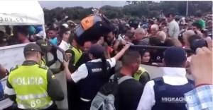 Despelote en la frontera colombo-venezolana por nuevos controles de acceso (VIDEOS)
