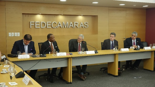 Foto: Fedecámaras y la Embajada de Estados Unidos realizan encuentro institucional / Prensa