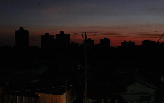 Apagón Maracaibo. (Foto Tarquino Díaz/la Verdad)