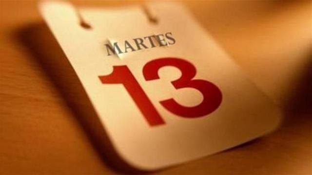 Martes 13 (istockphoto)