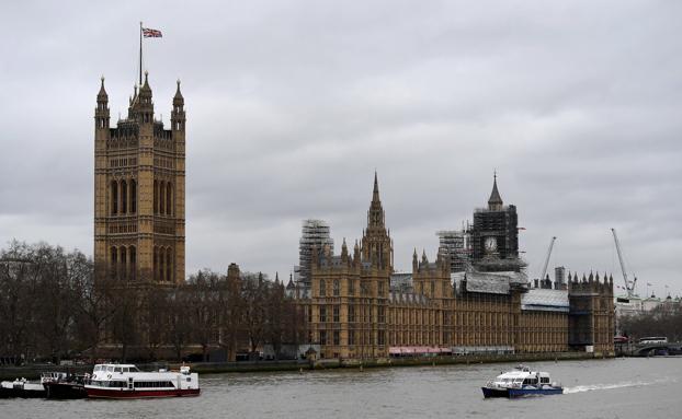 Palacio de Westminster, en Londres, / ANDY RAIN (EFE)