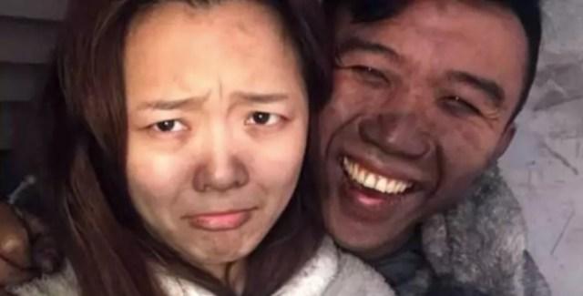 pareja china