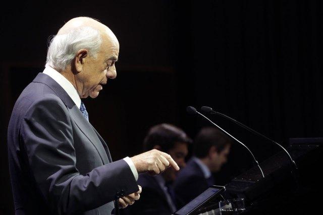 El presidente del BBVA, Francisco González (Foto Efe)