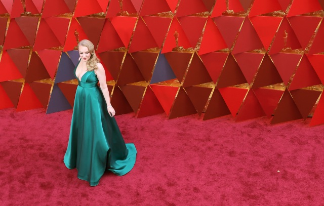 HOLLYWOOD, CA - MARCH 04: Wendi McLendon-Covey attends the 90th Annual Academy Awards at Hollywood & Highland Center on March 4, 2018 in Hollywood, California. Neilson Barnard/Getty Images/AFP