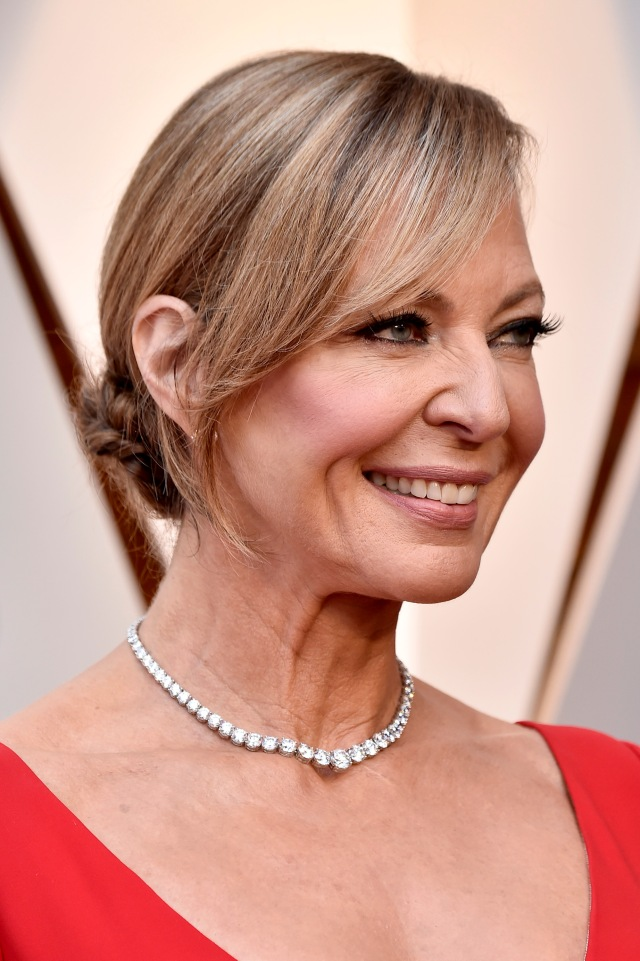 HOLLYWOOD, CA - MARCH 04: Allison Janney attends the 90th Annual Academy Awards at Hollywood & Highland Center on March 4, 2018 in Hollywood, California. Frazer Harrison/Getty Images/AFP