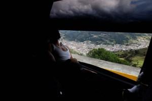 Abandonar Venezuela en una caravana de miseria (FOTOS)