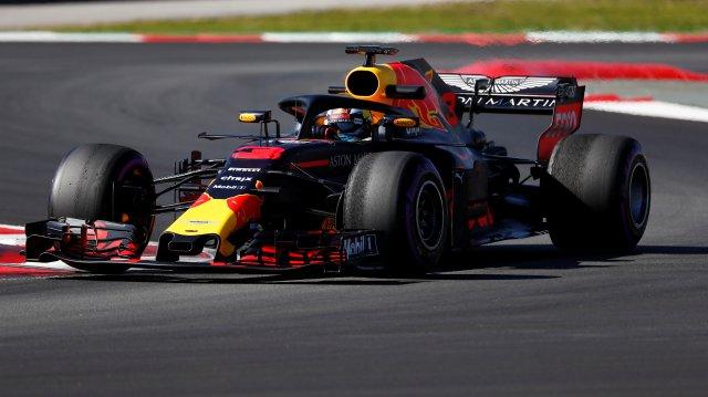 Motor Racing - F1FormulaOne-FormulaOneTest Session - Circuit de Barcelona-Catalunya, Montmelo, Spain - March 7, 2018   Daniel Ricciardo of Red Bull during testing   REUTERS/Juan Medina