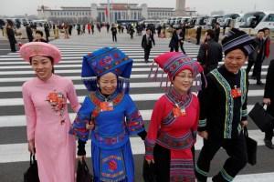 La sesión del Parlamento chino en imágenes