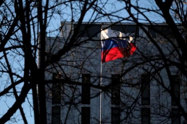 En la imagen de archivo la embajada de Rusia en la avenida Wisconsin en Washington, Estados Unidos. 29 de diciembre de 2016. REUTERS/James Lawler Duggan