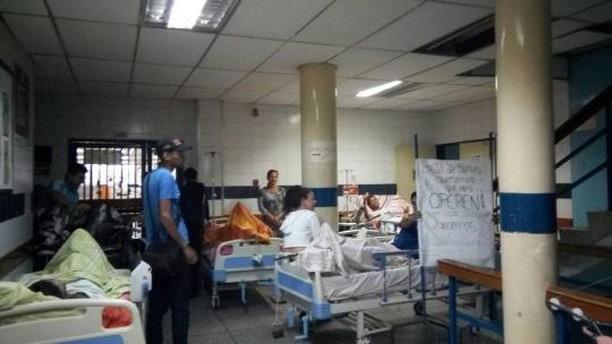 Traumatología del Periférico de Catia está colapsado (Foto: Nota de prensa)