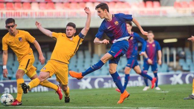 Alejandro José Marques, delantero del FC Barcelona (Foto captura de las redes sociales)
