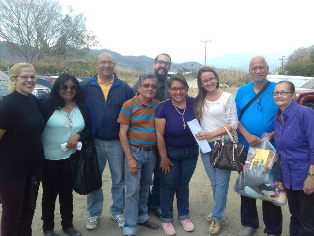 Vanessa Barroso, Johnny Calderón, Everth Celis y Gilberto Quintero fueron los presos políticos liberados: Foto: Alfredo Romero