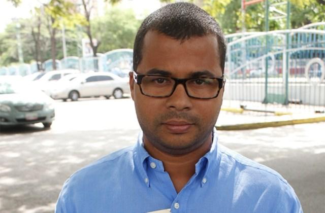 El concejal de Aragua Emer Álvarez