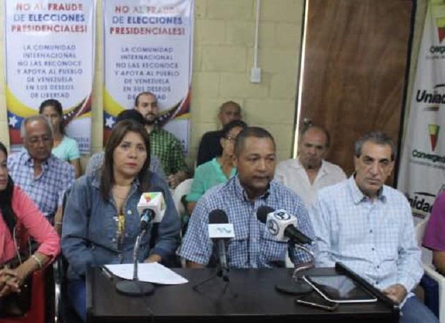 Coalición Unidos por Yaracuy  // Foto Prensa