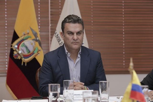 El presidente destituido de la Asamblea Nacional de Ecuador, José Serrano. notimerica.con