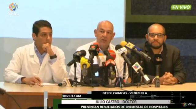 Foto: José Manuel Olivares, Julio Castro y Danny Golindano / VPI