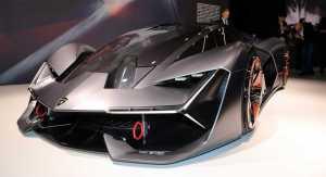 No es el nuevo Batimóvil… es el Lamborghini Terzo Millennio (WOW)