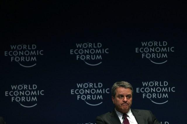 BRA50. SAO PAULO (BRASIL), 14/03/2018.- Roberto Azevedo, director de la organización mundial del comercio(OMC), habla hoy, miércoles 14 de marzo de 2018, en Sao Paulo (Brasil), durante el Foro Económico para Latinoamérica, una cita en la que se debatirá sobre la situación económica y política de la región y sus desafíos en el ámbito de la Cuarta Revolución Industrial. EFE/Fernando Bizerra Jr.