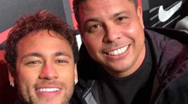 Neymar y Ronaldo en el último evento de la Nike