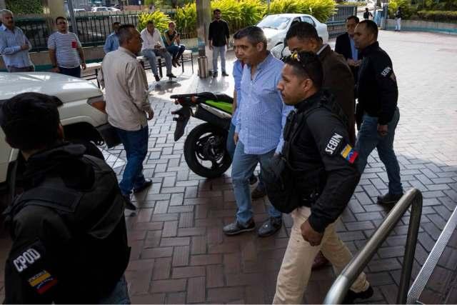 Sebin detiene a Miguel Rodríguez Torres. Foto Miguel Gutiérrez