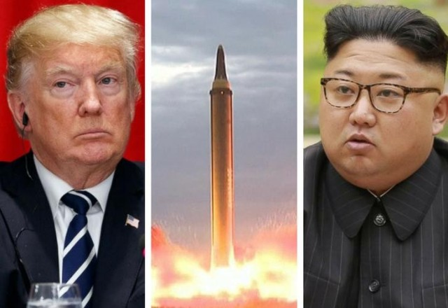 Donald Trump y Kim Jong-un Foto:AFP