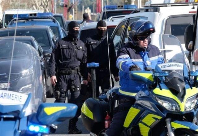 Policía francesa // Foto LaPresse