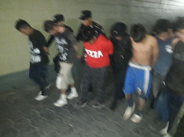 Pandilleros hirieron a dos policías durante operativo de captura // Foto @PNCdeGuatemala