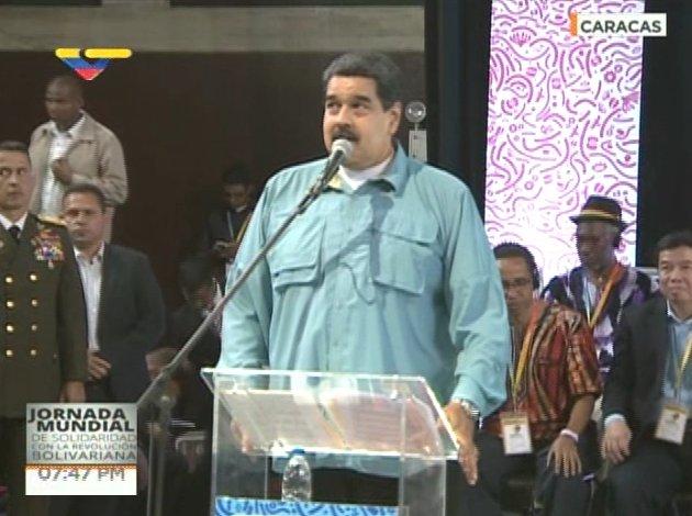 maduro somos venezuela lacava