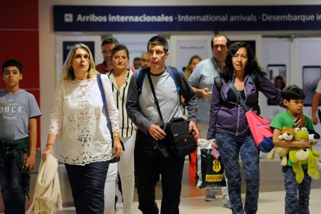 El único preso político argentino en Venezuela, ya llegó a Ezeiza Crédito: Enrique García Medina