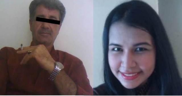 A la izquierda, junto a María Gracia, está Metid Salim Yousra , el árabe que tendría en cautiverio a la estudiante de LUZ (Foto extraída de Noticia al Día)