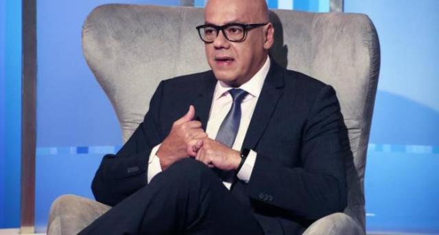 Ministro de Comunicación, Jorge Rodríguez (Foto extraída de Panorama)