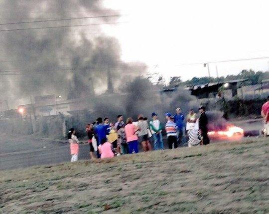 Foto: Al menos tres protestas en Monagas se registraron / Cortesía