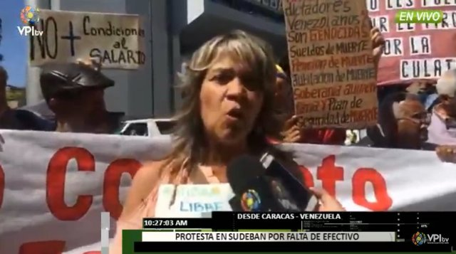 protesta sudeban caracas