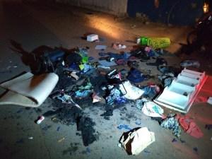 Atacaron a venezolanos en Roraima, Brasil: Quemaron su ropa y los expulsaron de refugio (fotos)