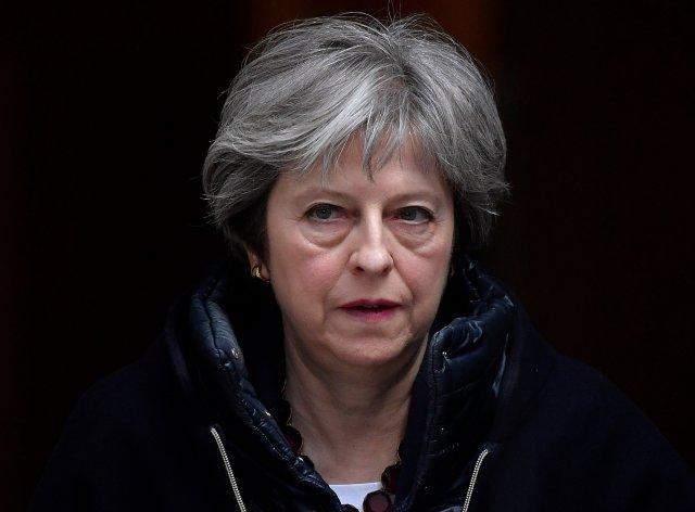 Theresa May REUTERS/Toby Melville