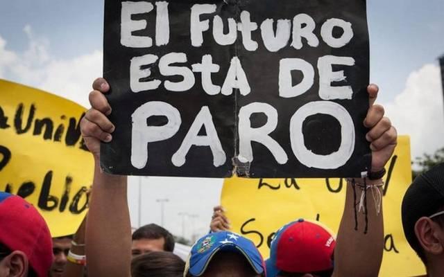 Estudiantes opositores al Gobierno y profesores universitarios protestan en junio de 2013, en Caracas ,Venezuela (Foto: EFE-ARCHIVO)