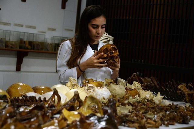 Los salones de la Universidad de los Andes en San Cristóbal, Táchira / Foto AFP / GEORGE CASTELLANOS
