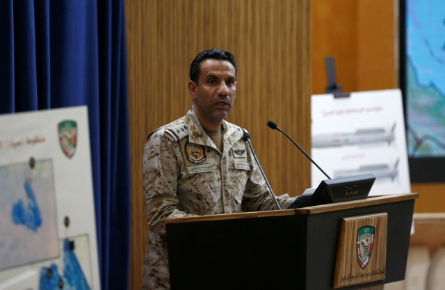 Foto: El coronel Turki al Malki / Reuters