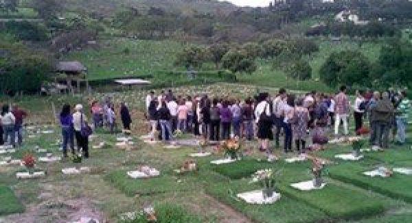 En Zorca, Providencia, el pueblo despidió a la hija que encontró la muerte en Aruba.