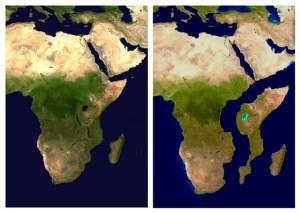 Una grieta está partiendo a África en dos (videos)