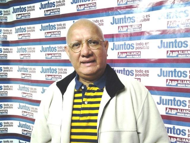 Alcides Padilla, dirigente de ABP // Foto Prensa