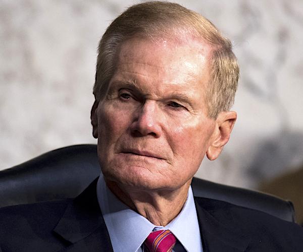 Sen. Bill Nelson, D-Fla. Senate's tax reform bill in the Senate Finance Committee on Thursday, Nov. 16, 2017. (Photo By Bill Clark/CQ Roll Call) (CQ Roll Call via AP Images)