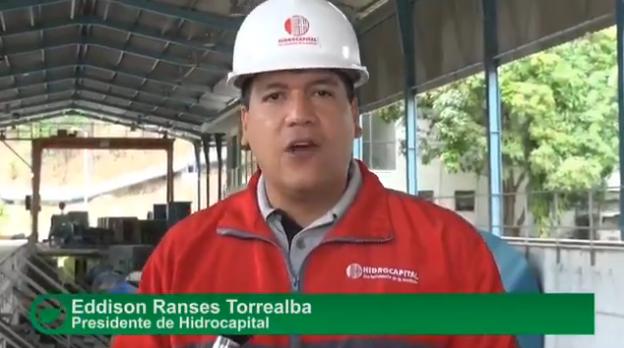 Foto: Eddison Ranses Torrealba, presidente de HidroCapital / Cortesía