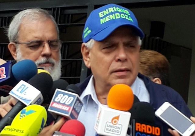Enrique Mendoza   Foto: Nota de prensa